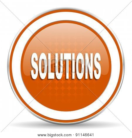 solutions orange icon