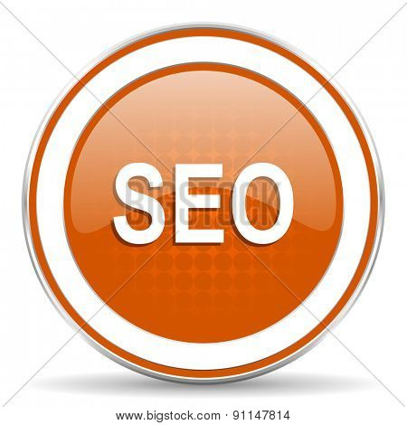 seo orange icon