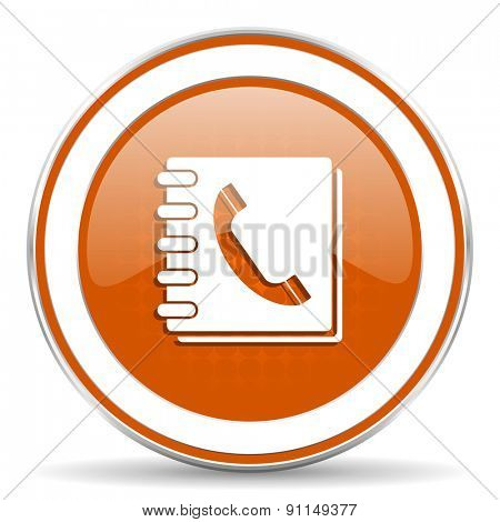 phonebook orange icon