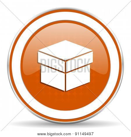 box orange icon