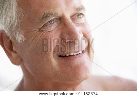 Portrait Of Smiling Senior Man