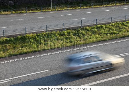 Car In Motion