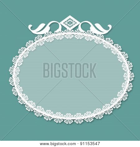 Invitation Frame For Text Or Photo