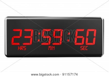 Leap Second On Watches
