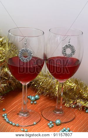 Festive Red wine