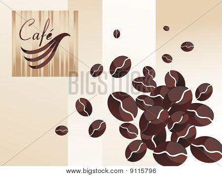 Vector coffee  set