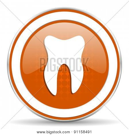 tooth orange icon