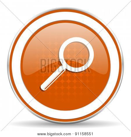 search orange icon
