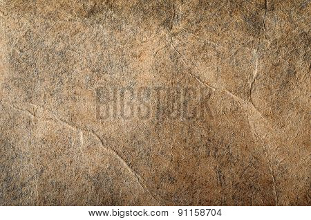 Macro Of Brown Paper Texture For Background