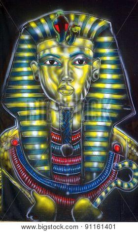 Tutankhamun mummy mask