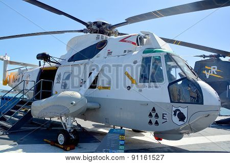 The Sikorsky SH-3 Sea King