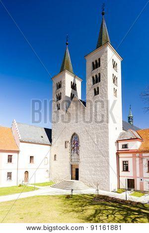 premonstratensian monastery of Milevsko, Czech Republic
