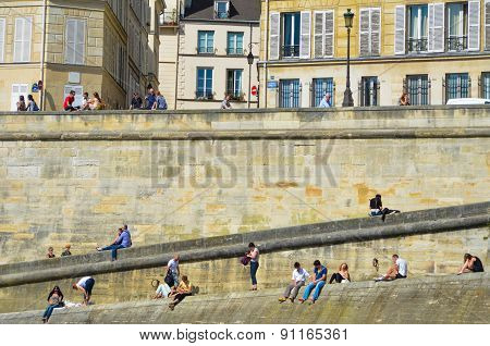 Right Bank of the Seine River