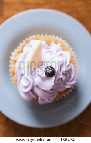 Tasty Cupcake With Mascaropne