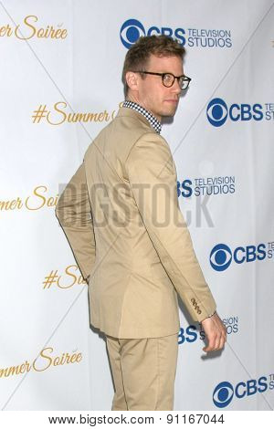 LOS ANGELES - MAY 18:  Barrett Foa at the CBS Summer Soiree 2015 at the London Hotel on May 18, 2015 in West Hollywood, CA