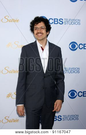LOS ANGELES - MAY 18:  Geoffrey Arend at the CBS Summer Soiree 2015 at the London Hotel on May 18, 2015 in West Hollywood, CA