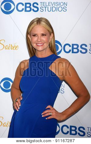 LOS ANGELES - MAY 18:  Nancy O'Dell at the CBS Summer Soiree 2015 at the London Hotel on May 18, 2015 in West Hollywood, CA