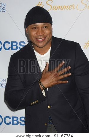LOS ANGELES - MAY 18:  LL Cool J at the CBS Summer Soiree 2015 at the London Hotel on May 18, 2015 in West Hollywood, CA