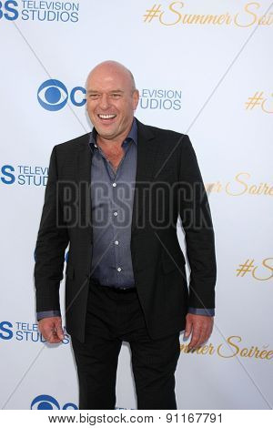 LOS ANGELES - MAY 18:  Dean Norris at the CBS Summer Soiree 2015 at the London Hotel on May 18, 2015 in West Hollywood, CA