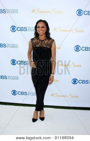 LOS ANGELES - MAY 18:  Nischelle Turner at the CBS Summer Soiree 2015 at the London Hotel on May 18, 2015 in West Hollywood, CA