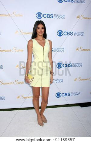 LOS ANGELES - MAY 18:  Laysla De Oliveira at the CBS Summer Soiree 2015 at the London Hotel on May 18, 2015 in West Hollywood, CA