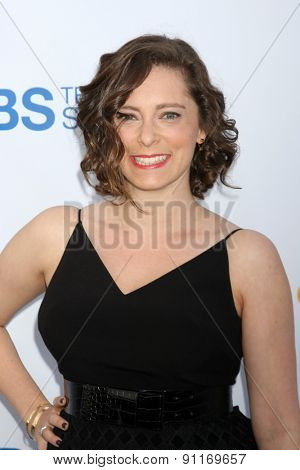 LOS ANGELES - MAY 18:  Rachel Bloom at the CBS Summer Soiree 2015 at the London Hotel on May 18, 2015 in West Hollywood, CA