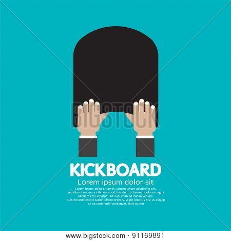 Kick Board Swimming Support Equipment.