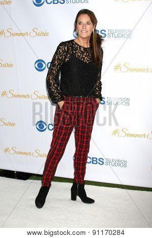 LOS ANGELES - MAY 18:  Chelsea Field at the CBS Summer Soiree 2015 at the London Hotel on May 18, 2015 in West Hollywood, CA