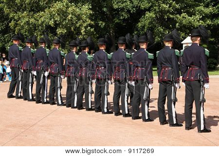 Royal Guard In Norway