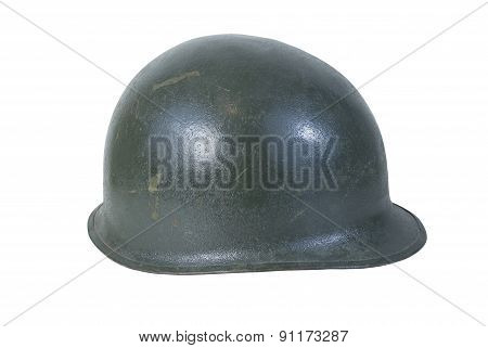 Used Vintage Military Helmet