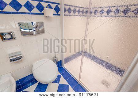 Detail of a luxury bathroom