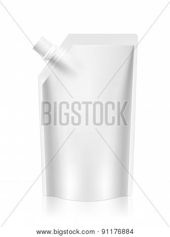 Blank Foil Food Or Drink Packaging