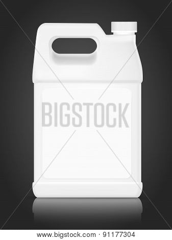 Blank Plastic Bottle For Detergent