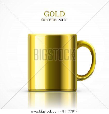 Classic Gold Mug