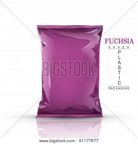 Fuchsia Snack Plastic Packaging