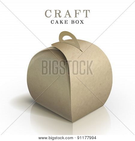 Craft Cake Box
