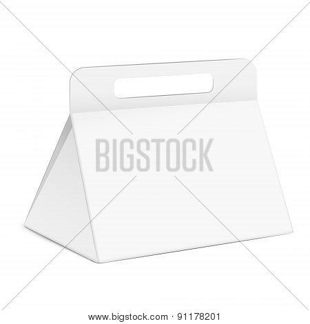 White Triangle Box