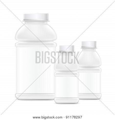 Blank Product Plastic Bottle