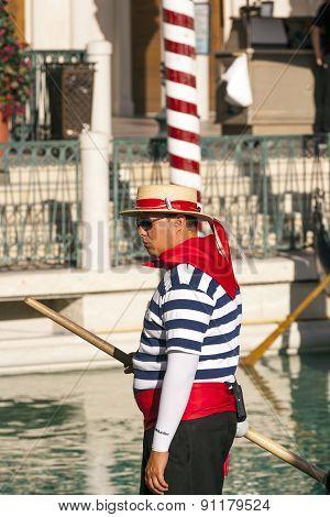 Gondolieres At The Venetian Resort Hotel & Casino