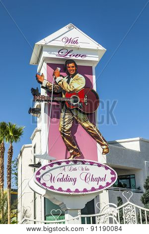 December 2004 - Little White Wedding Chapel, Las Vegas, Nv