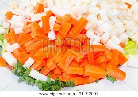 Chopped Vegetable Varieties