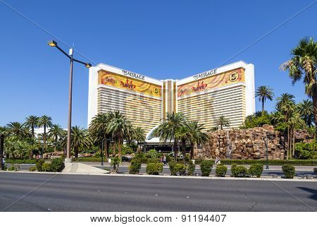 The Mirage Casino Hotel And Resort In Las Vegas
