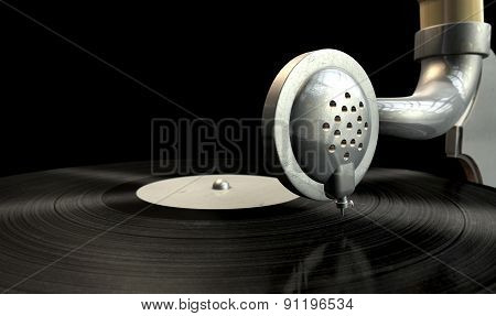 Gramophone And Record