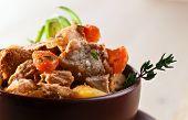 picture of irish  - Homemade Irish Beef Stew with Carrots and Potatoes - JPG