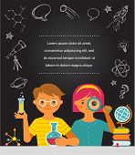 stock photo of scientist  - Young scientist - JPG