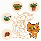 pic of game-fish  - Maze Game for children  - JPG