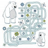 picture of bear  - Game for children - JPG