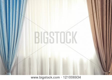 Curtain on the window