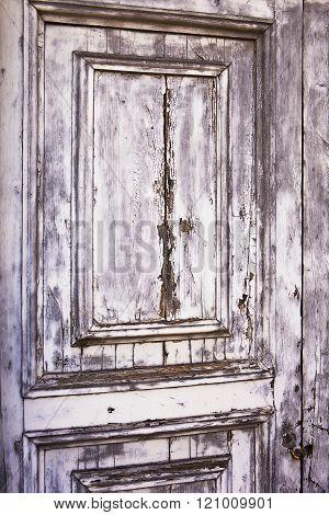 Distressed Gray Door Texture