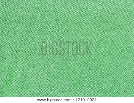 Green Denim Textile Texture